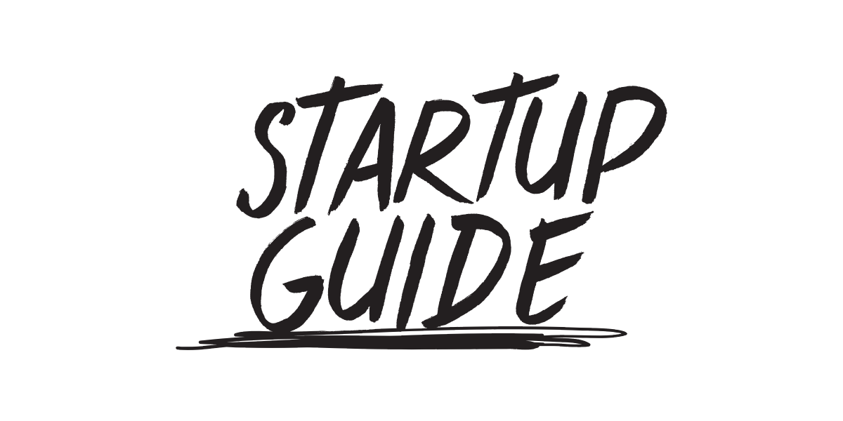 Startup Guide - Guidebooks and online content to help entrepreneurs navigate -  1200x600